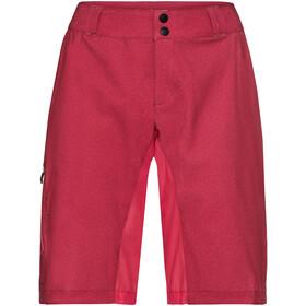 VAUDE Ligure Culotte corto sin tirantes Mujer, red cluster